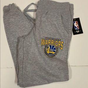 NBA Golden State Warriors basketball sweatpants